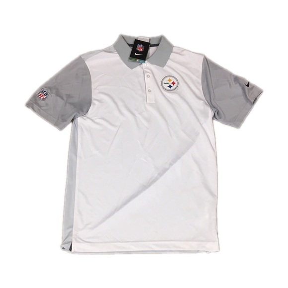 0e068f770ec Pittsburgh Steelers Nike Dri Fit Polo Shirt Small